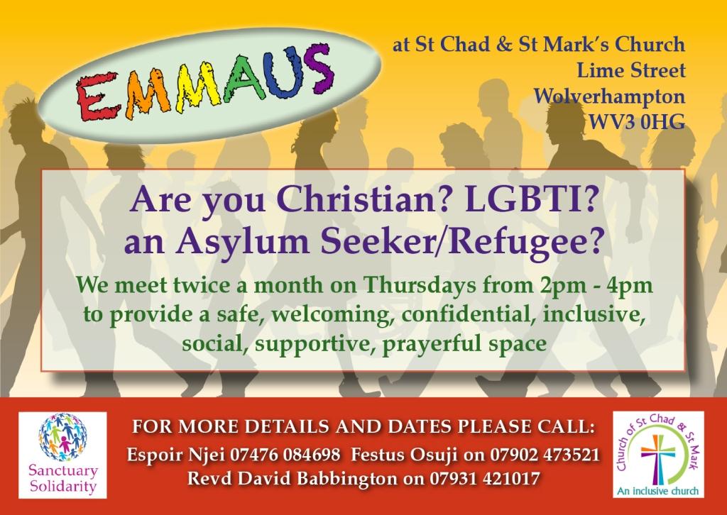 St Chad & St Mark Card LGBTI